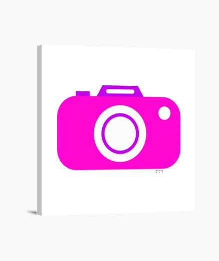 Stampa su tela macchinetta fotografica...