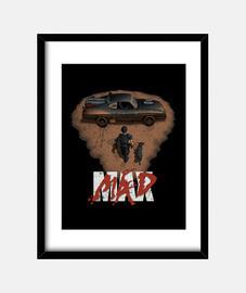 Mad Max (collab Hartzack) print