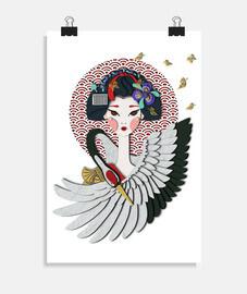 Maiko: Aprendiz de Geisha, garza y mari
