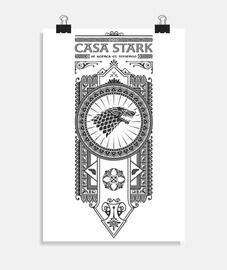 maison stark noir
