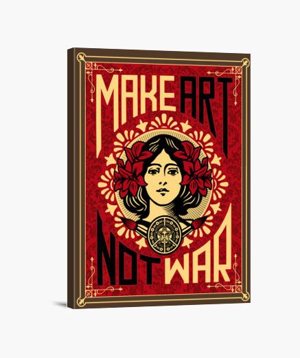 Make art canvas