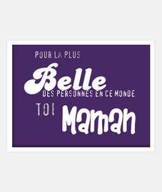 Maman - petit message