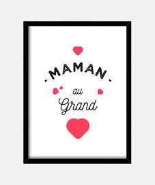 mamma con grande cuore