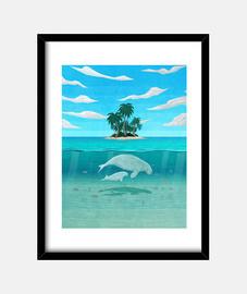mana t-shirt island