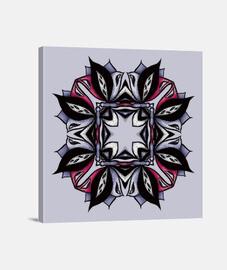 mandala floral gótico deja insectos