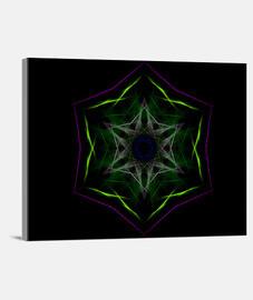 Mandala Yo SOY Lienzo Horizontal 4:3 - (40 x 30 cm)