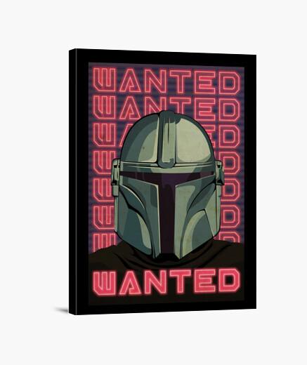 Mandalorian Wanted, Lienzo Vertical