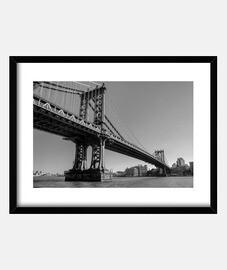 Manhattan bridge bnw