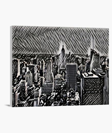 Manhattan Lienzo Horizontal 4:3 - (40 x 30 cm)