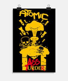 manifesto - omicidio di massa atomico
