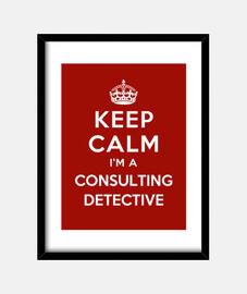 mantener la calma im un detective consultor