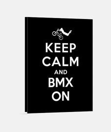 mantener la calma y bmx en la