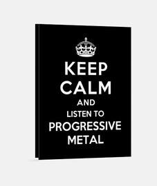 mantener la calma y escuchar meta progresiva
