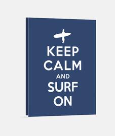 mantener la calma y navegar en