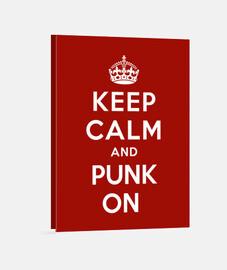 mantener la calma y punk en