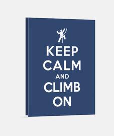 mantener la calma y subir en