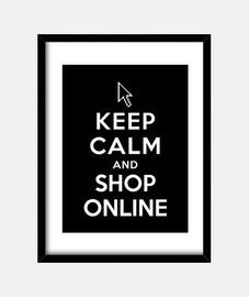 mantenere la calma e acquisti online