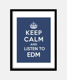 mantenere la calma e ascoltare edm