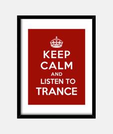 mantenere la calma e ascoltare trance