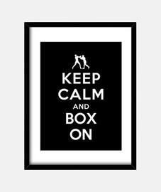 mantenere la calma e box su