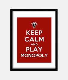 mantenere la calma e giocare monopolio