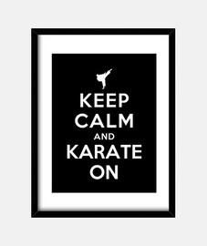 mantenere la calma e karate