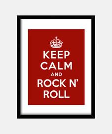 mantenere la calma e rock & roll