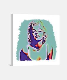Marilyn, Lienzo Cuadrado 1:1 - (40 x 40 cm)