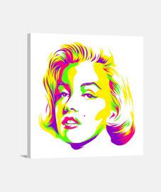 Marilyn Monroe Colors Lienzo
