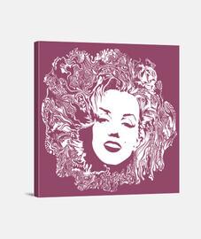 Marilyn Monroe Lienzo