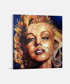 marilyn monroe toile - (40 x 40 cm)