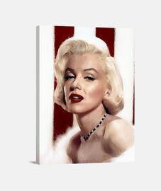 Marilyn: Pintura al óleo