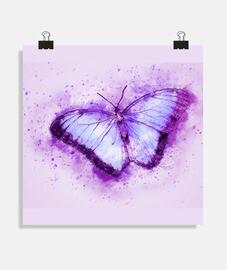 Mariposa malva