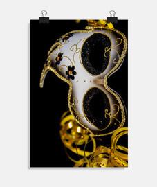Máscara del carnaval de Venecia en Ital