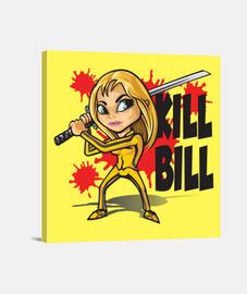 matar estilo de dibujos animados factura