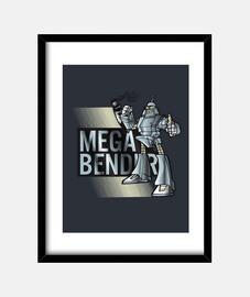 MegaBender Megatron Bender  Cuadro Transformers