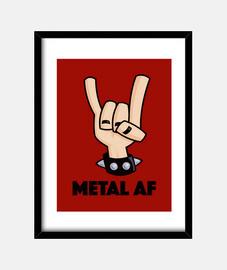 metal af diablos cuernos
