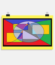 Metamorfosis. Póster horizontal 3:2 - (30 x 20 cm)