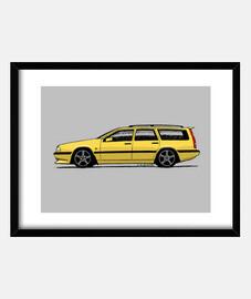 Mi dibujo del Volvo 850 T5