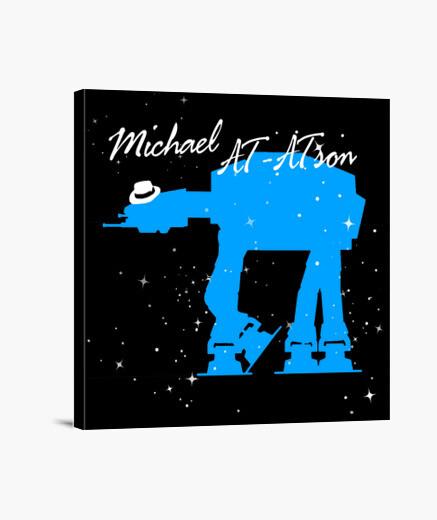 Michael AT-ATson (Lienzo)