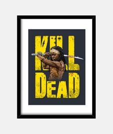 Michonne kill dead