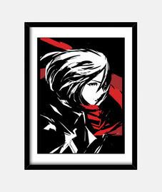Mikasa Ackerman - Ataque de los Titanes