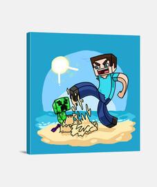 Minecraft (Lienzo)