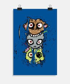 mono alien zombie