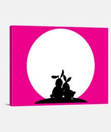 Moon Love rabbits