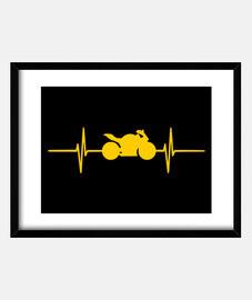 moto fréquence doré,battement