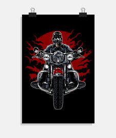 motociclista selvaggio