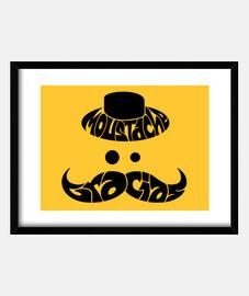 Moustache gracias