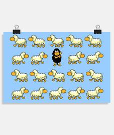 mouton noir - être différent