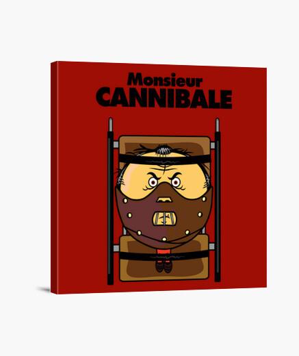 Mr. cannibal canvas